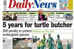 FLASHBACK: Five years for turtle butcher