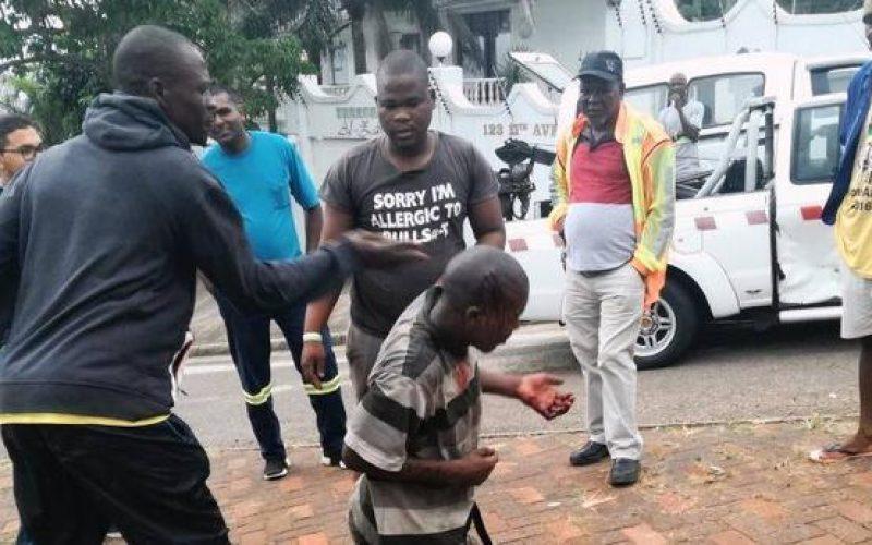 Durban rock thrower jailed