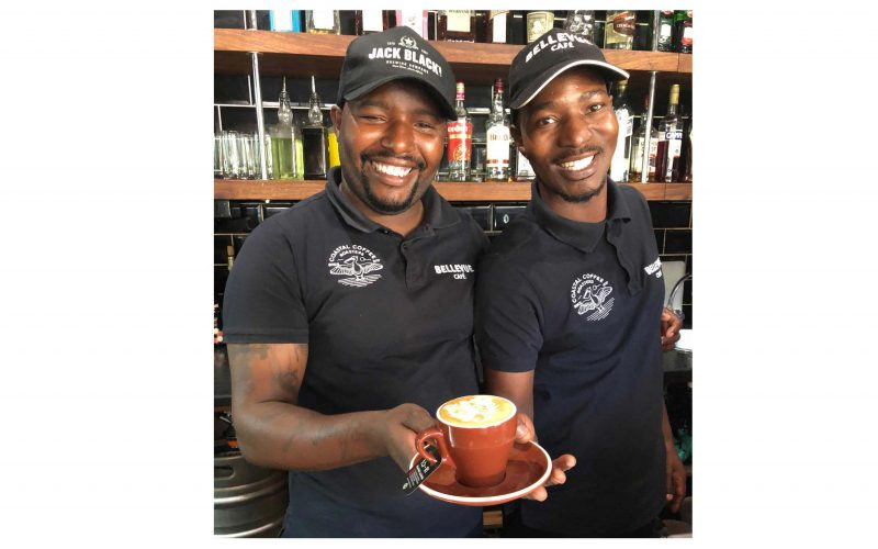 Better latte than never to save lions, says cafe owner
