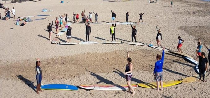 "Surfers give a ""high five"" to increased ocean protection"