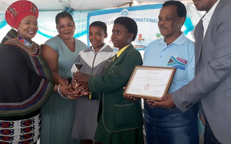 Royal salute for water-savvy school