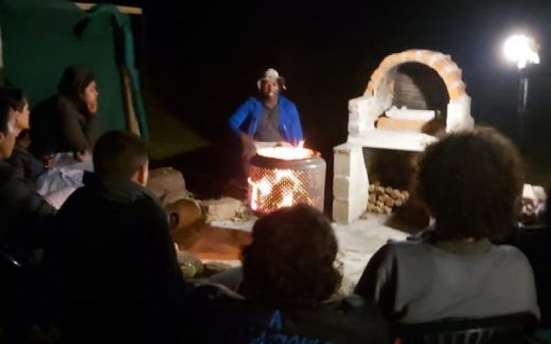 Fireside stories and other cracking tales on the trail
