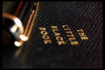 In praise of the little black book <br> (or the modern equivalent thereof)