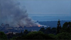 Fire at New England Landfill site iun Pietermaritzburg