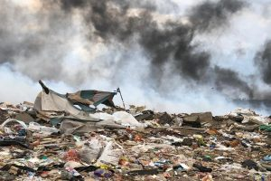 Fire at New England Landfill site in Pietermarizburg