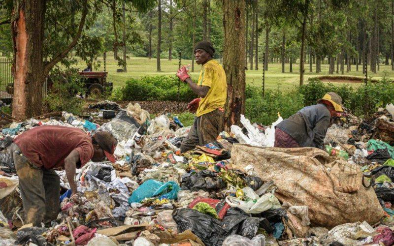 Chaos as residents dump outside dump