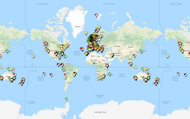 Nurdle hunt maps pollution