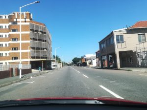 empty lockdown streets
