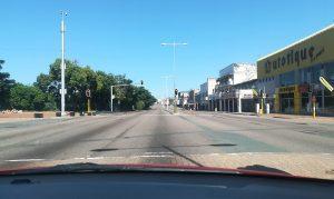 lockdown empty streets Durban