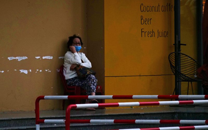 Coronavirus lockdown in pictures