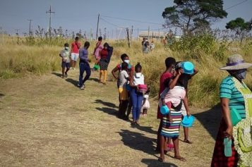 Written from the heart:  Wild Coast learners document their hopes and fears
