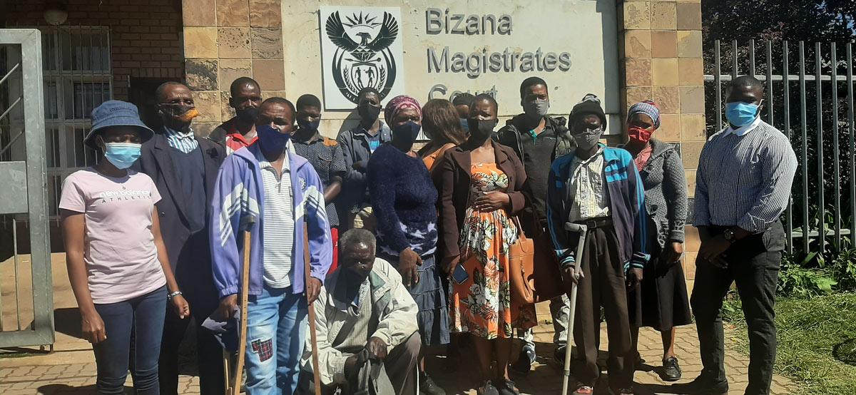 Xolobeni: Victims and family