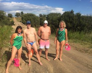 Vaal River swimmers