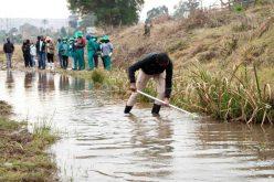 Enviro Champs tackle Pietermaritzburg river pollution